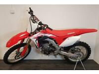 Honda CRF450R - 2018 model, excellent condition