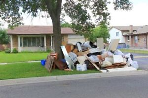 Need Garbage removal ? Junk Removal Flat rate available