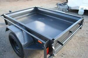 6x4 Commercial Box Trailer 300mm Sides Box Chassis, 5 Leaf Spring Fyshwick South Canberra Preview