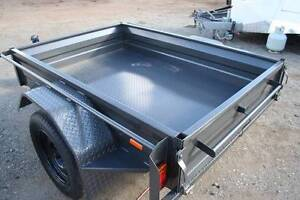 6x4 Commercial Duty Box Trailer with Full RHS Tube Chassis Fyshwick South Canberra Preview