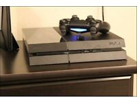 PlayStation 4 with 1 controller