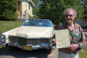 Cadillac Coupe Deville Convertible 1965 MINT