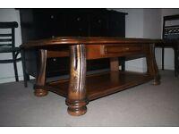 massive living room table