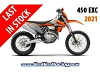 KTM 450 EXC 2021 - Brand new, last one in stock!