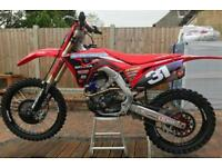 Honda CRF250R ROCZEN Edition - 2018, approx 6 hours only!
