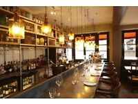 Waiter/Waitress-Eclectic New Restaurant in Putney £8-£9.50hr+Substantial tips