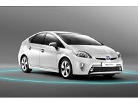 Toyota Prius and Honda Insight hybrid car for rent from only £120