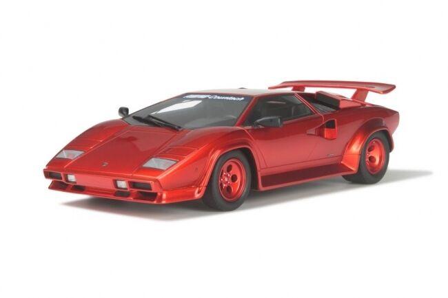 LAMBORGHINI Countach Koenig Specials Turbo red Resin GT Spirit NEW NEU 1:18