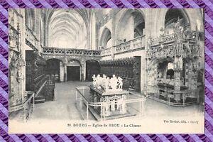 CPA-01-BOURG-La-iglesia-de-BROU-el-choeur