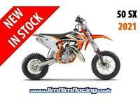 KTM 50 SX 2021 - Brand new