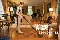 residential and commercial Housekeeping/ménage résidentiel