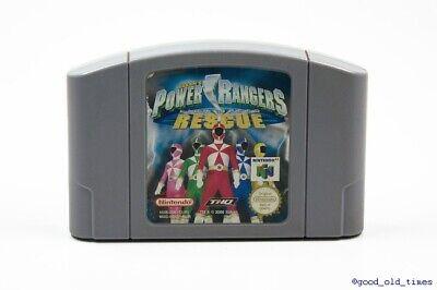 ## Power Rangers Lightspeed Rescue für NINTENDO 64 / N64 ##