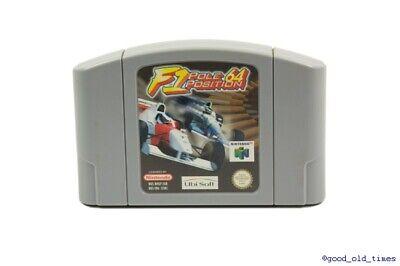## F1 Pole Position - N64 / Nintendo 64 Spiel - TOP ZUSTAND ##
