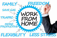 Work from Home, start part-time