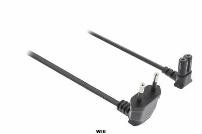 Cable de Alimentación Euro Macho - IEC-320-C7 2m Negro