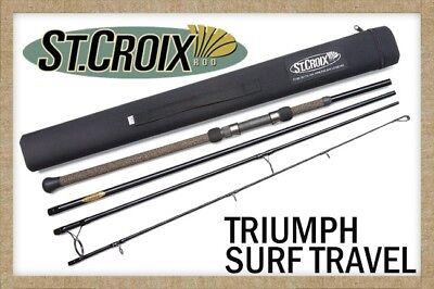 St. Croix Triumph Surf Travel Rods - All Models