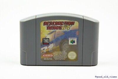 ## Destruction Derby 64 - Nintendo 64 / N64 Spiel - TOP ##
