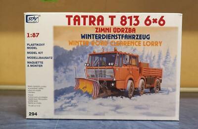 SDV LKW Bausatz Tatra T 813 6x6 Winterdienst