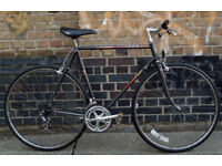 French vintage road bike PEUGEOT frame size 23inch 12 speed, serviced WARRANTY - NEW TYRES BRAKES