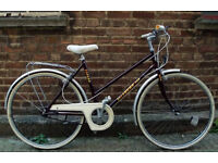Vintage ladies dutch bike FOCUS with 3 speed size 20 NEW BRAKES , serviced - Welcome for test ride