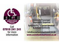 Drivers & Passenger assistants for school contracts in all Reading & Wokingham areas,TERM times only