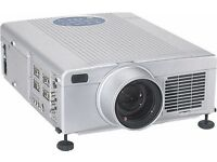 2x professional DLP Projectors School education / home cinema VGA,DVI laptop Composite AV connection