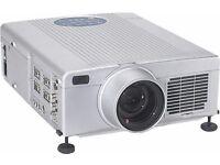2x professional DLP Projectors School education / home cinema VGA,DVI laptop Composite AV connection