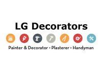 LG DECORATORS / PAINTER / PLASTERER / HANDYMAN
