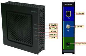 Cable Modem Motorola Surfboard SB6120 DOCSIS 3.0/2.0