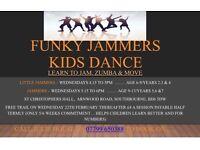 Kids dance,Zumba - Funky Jammers