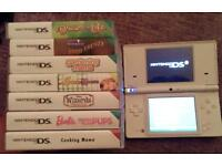 Nintendo DSI White with 7 Games