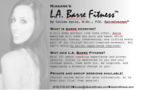 BARRE FITNESS with Louise Agius