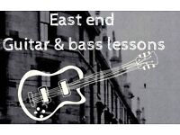 East End guitar & Bass Guitar / 4 lessons £50 induction offer