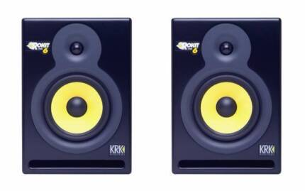 KRK Rokit 6 Powered Speakers (pair), Excellent Condition! Chatswood Willoughby Area Preview