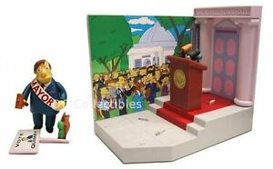 Playset : The Simpsons Springfield Town Hall / Mayor Quimby