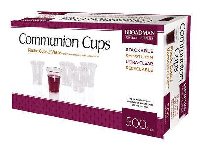 B&H Plastic Communion Cups, 500 Broadman Church Supplies