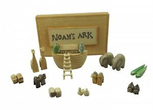 East Of India Minature Noahs Ark Christening Gift Or New
