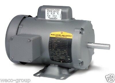 L3509m 1 Hp 3450 Rpm New Baldor Electric Motor