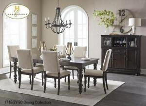 Dining set with 6 Chairs (MA501)