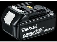 Makita 18v 4.0ah batteries bl1840b
