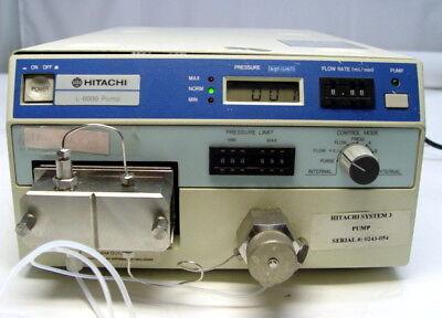 Hitachi L-6000 Hplc System Pump