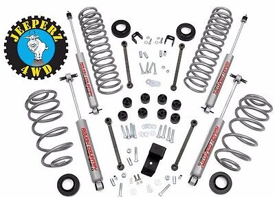 Jeep TJ Wrangler 3.25 inch Lift Kit w/ N2.0 shocks, **SAME DAY FREE SHIPPING**