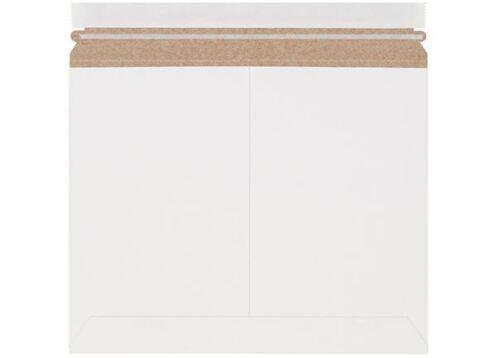 "12 1/4 x 9 3/4"" #5SL White Side-Loading Self-Seal Stayflats® Lite Mailer 55/lot"