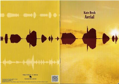 FREE ship! KATE BUSH Japan official PROMO ONLY 12 page mini book AERIAL release
