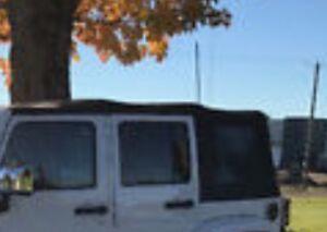 Toit mou Noir Jeep pour 4 portes
