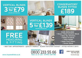 SPECIAL OFFER MADE TO MEASURE BLINDS CALL NOW 08002335566 FOR A FREE MEASURE UP