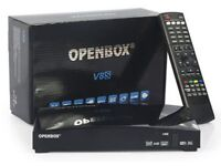 OPENBOX V8S Twin Tuner With 12 Month Subscription