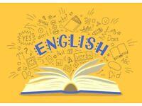 English Teacher available for English tutoring (GCSE, KS3, A-Level)
