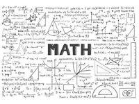 Maths Tutor Available