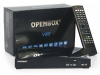 OPENBOX V8S Twin Tuner With 12 Month Subscription PLUG & PLAY